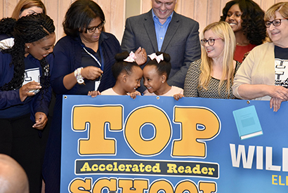 JP Schools Awards Top Accelerated Readers for Fall 2019