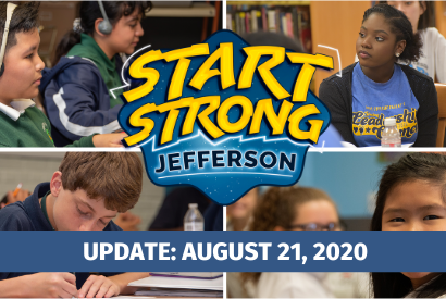 Superintendent's Message: August 21, 2020