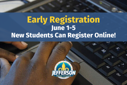 2020-2021 Early Online Registration Takes Place June 1-5