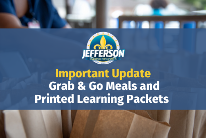 JP Schools Announces Friday Changes to Meals and Packet Distribution