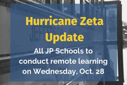Hurricane Zeta Update