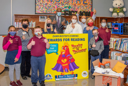 JP Schools Boosts Early Literacy With the Help of Dawnbusters and Rocky the Rooster