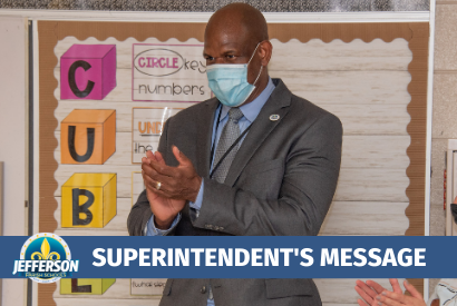 Superintendent's Message: September 18, 2020