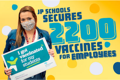 JP Schools Secures 2,200 Covid-19 Vaccinations For Employees