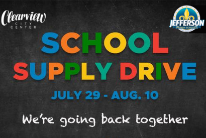 Clearview City Center School Supply Drive