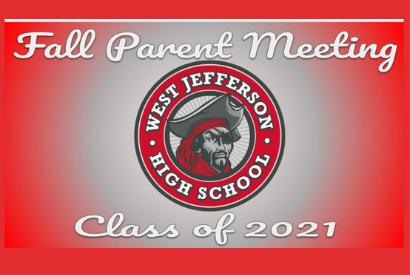Buc Parents / Fall Parent Meeting- Senior Class of 2021