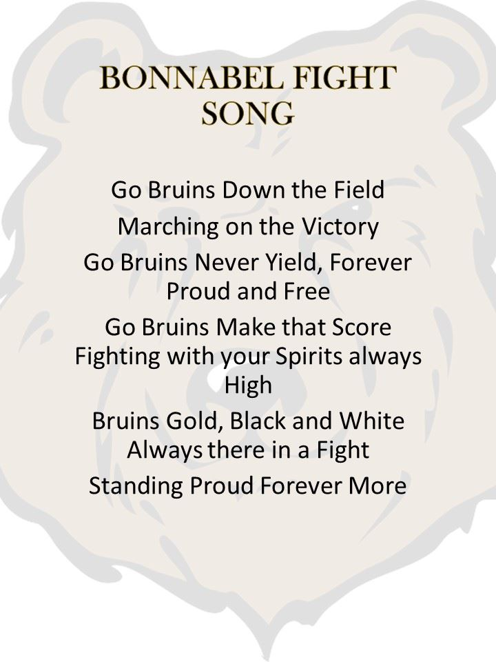 Bonnabel Fight Song