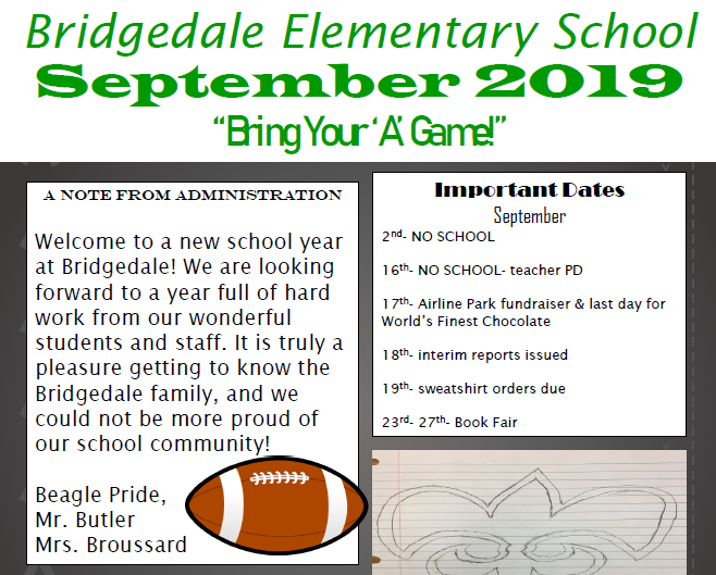 September School Newsletter