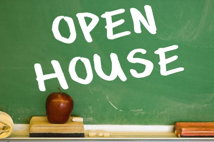 Open House- Monday, Aug. 19 @ 6pm