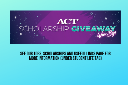 ACT Scholarship Giveaway