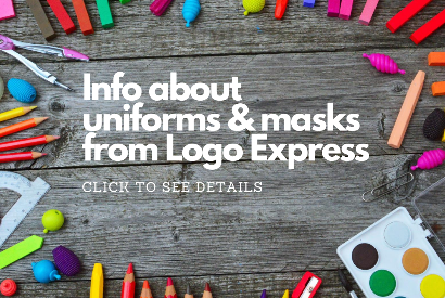 Info about uniforms & masks from Logo Express