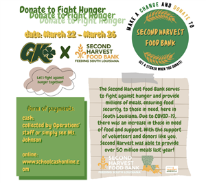 Donate to Fight Hunger Announcement