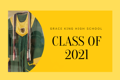 Graduation regalia for Grace King