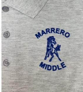Marrero Middle Updated Uniform Colors Available- Plus Coupon!