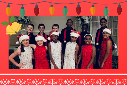5th Graders Perform at the Superintendent's Christmas Party