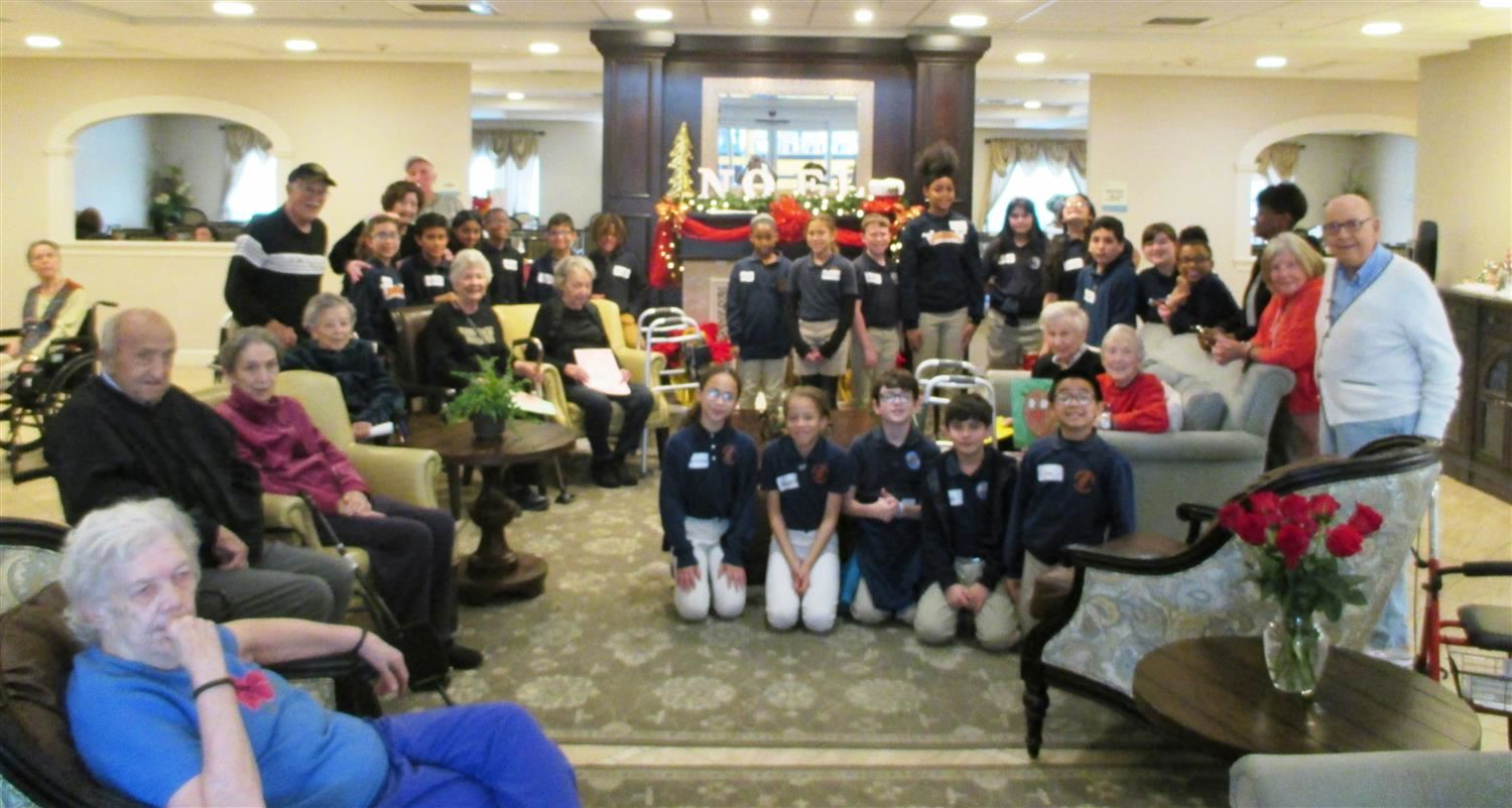 5th Graders participate in Brown Foundation Service Learning Event