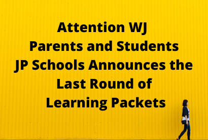 JPS Announces Third Round of Learning Packets