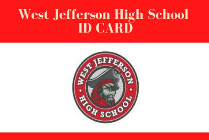 WJHS Virtual Students Only- Tuesday, Dec. 8, 2020 ID PICK UP