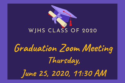 WJHS Graduation Zoom Meeting