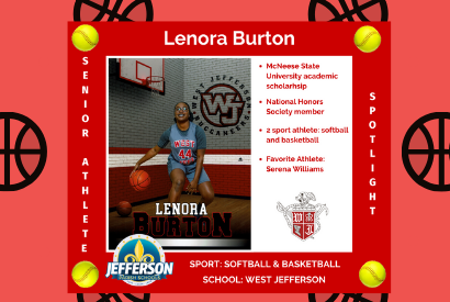 Lenora Burton JPS Athlete Senior Spotlight