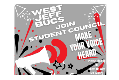 WJHS Student Council Sign Up