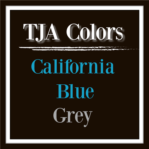 School Colors are California Blue and Grey