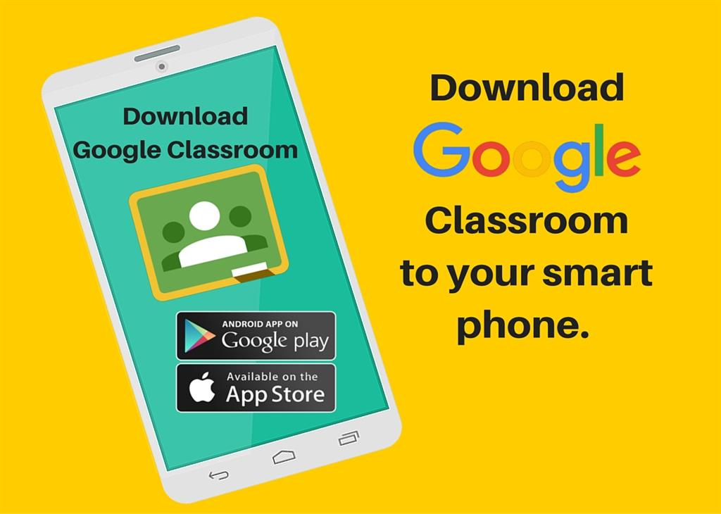 Google Classroom on your smart phone
