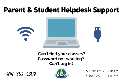 Parent & Student Helpdesk Support